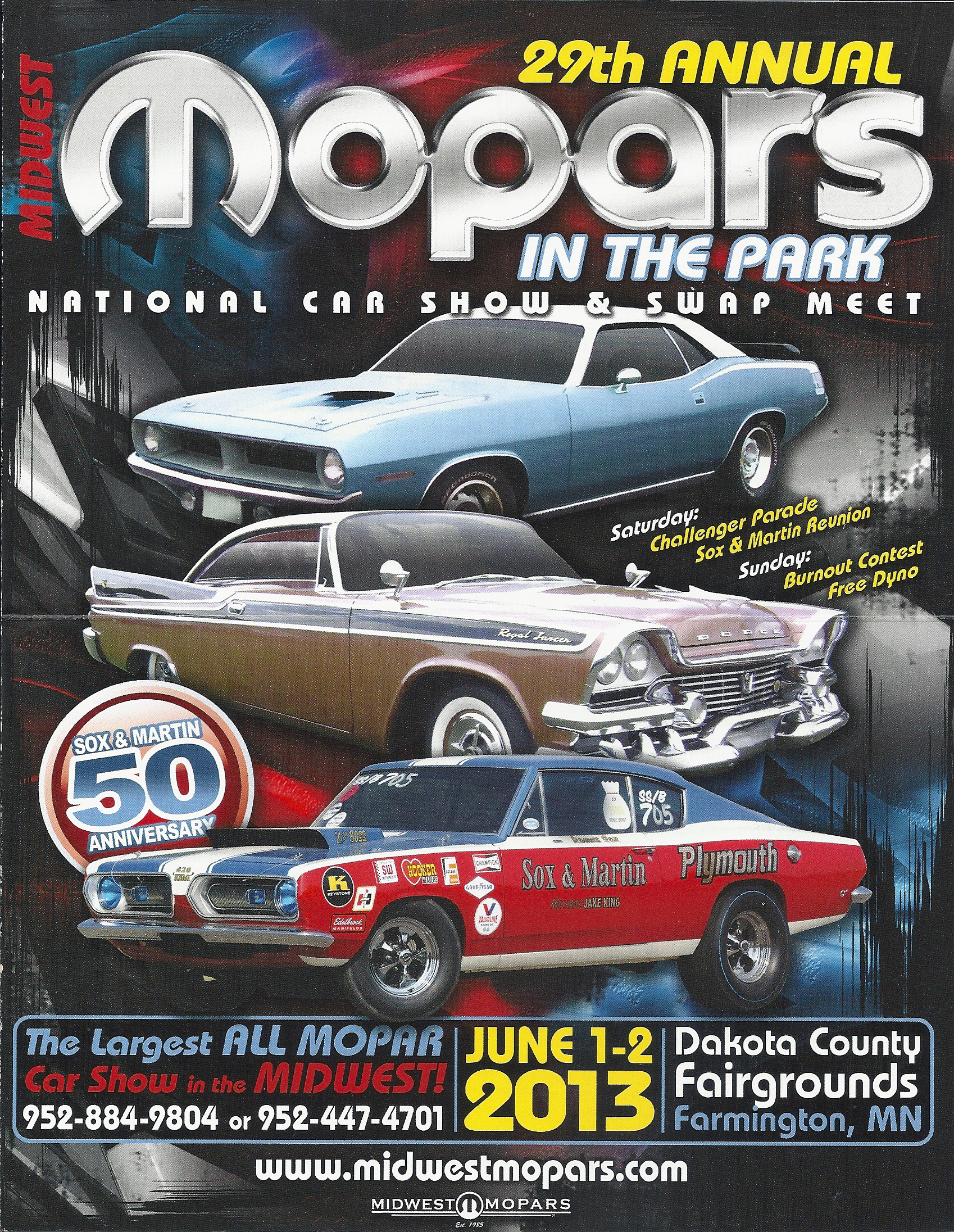 Mopars in the Park