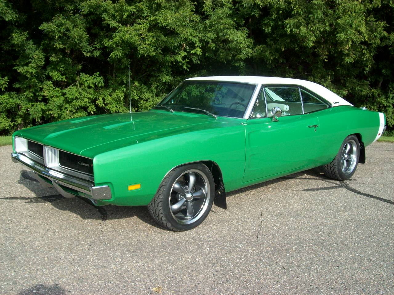 1969 Electric Green Charger
