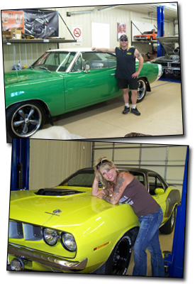 Troy and Laura of The R/T Garage